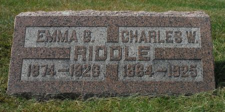 RIDDLE, CHARLES WILLIAM - Dubuque County, Iowa | CHARLES WILLIAM RIDDLE