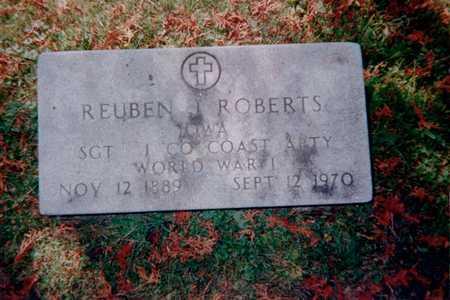 ROBERTS, REUBEN J. - Dubuque County, Iowa   REUBEN J. ROBERTS