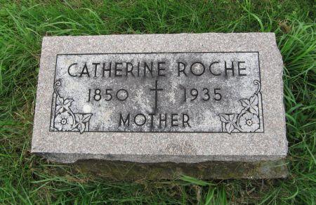 ROCHE, CATHERINE - Dubuque County, Iowa   CATHERINE ROCHE
