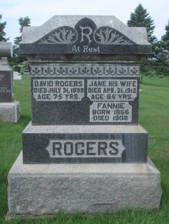 ROGERS, FANNIE - Dubuque County, Iowa | FANNIE ROGERS