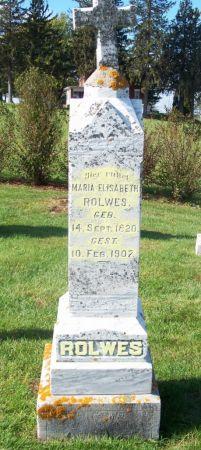 ROLWES, MARIE ELISABETH - Dubuque County, Iowa | MARIE ELISABETH ROLWES