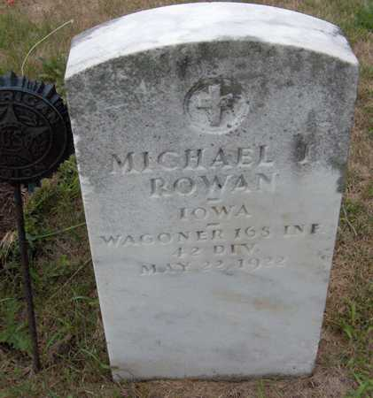 ROWAN, MICHAEL J. - Dubuque County, Iowa | MICHAEL J. ROWAN