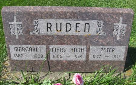 RUDEN, PETER - Dubuque County, Iowa | PETER RUDEN