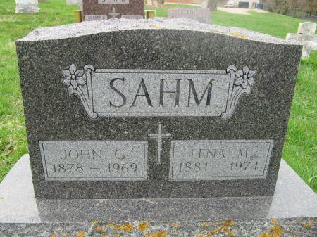 SAHM, JOHN G. - Dubuque County, Iowa | JOHN G. SAHM