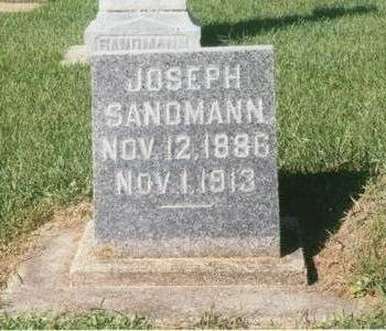 SANDMANN, JOSEPH - Dubuque County, Iowa | JOSEPH SANDMANN