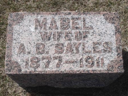 SAYLES, MABEL - Dubuque County, Iowa | MABEL SAYLES