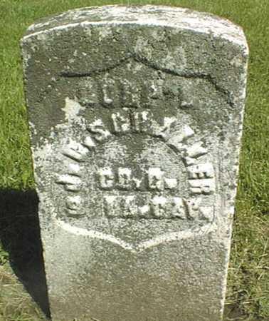 SCHALLER, J.O. - Dubuque County, Iowa   J.O. SCHALLER