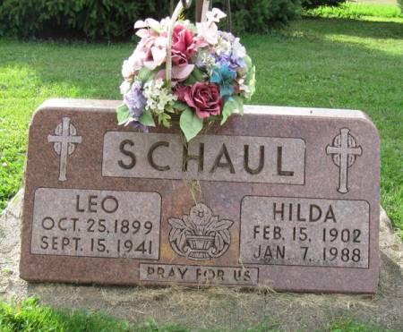SCHAUL, HILDA - Dubuque County, Iowa | HILDA SCHAUL