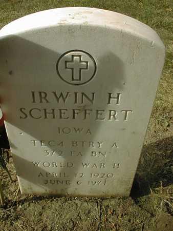SCHEFFERT, IRWIN H. - Dubuque County, Iowa | IRWIN H. SCHEFFERT