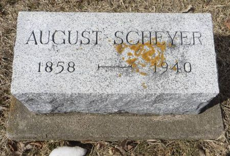 SCHEYER, AUGUST - Dubuque County, Iowa | AUGUST SCHEYER