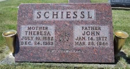 SCHIESSL, THERESA - Dubuque County, Iowa | THERESA SCHIESSL