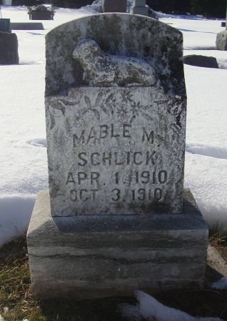 SCHLICK, MABLE M. - Dubuque County, Iowa | MABLE M. SCHLICK