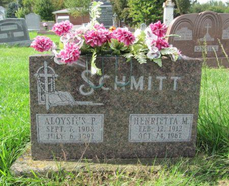 SCHMITT, HENRIETTA M. - Dubuque County, Iowa | HENRIETTA M. SCHMITT