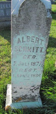 SCHMITT, ALBERT - Dubuque County, Iowa   ALBERT SCHMITT