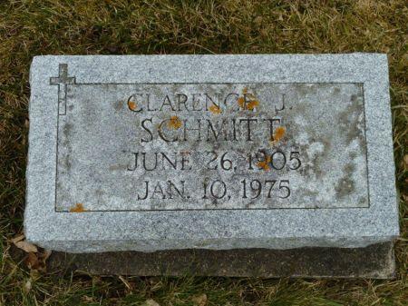 SCHMITT, CLARENCE J. - Dubuque County, Iowa | CLARENCE J. SCHMITT
