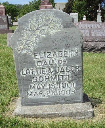 SCHMITT, ELIZABETH - Dubuque County, Iowa   ELIZABETH SCHMITT