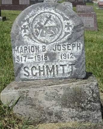 SCHMITT, MARION B. - Dubuque County, Iowa | MARION B. SCHMITT