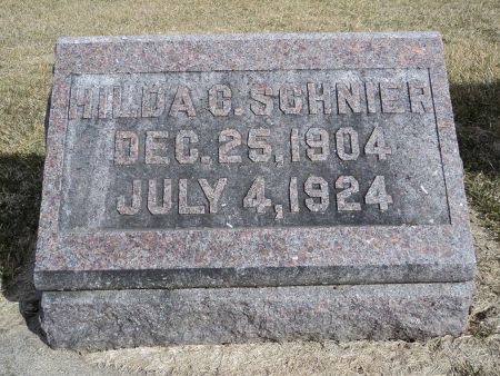 SCHNIER, HILDA C. - Dubuque County, Iowa | HILDA C. SCHNIER
