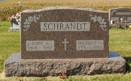 SCHERBRING SCHRANDT, MILDRED A. - Dubuque County, Iowa | MILDRED A. SCHERBRING SCHRANDT
