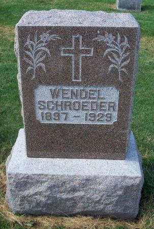 SCHROEDER, WENDEL - Dubuque County, Iowa | WENDEL SCHROEDER