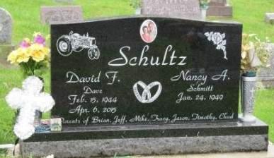 SCHMITT SCHULTZ, NANCY A. - Dubuque County, Iowa   NANCY A. SCHMITT SCHULTZ