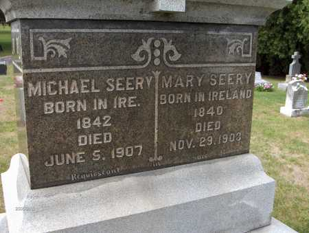 SEERY, MARY - Dubuque County, Iowa | MARY SEERY