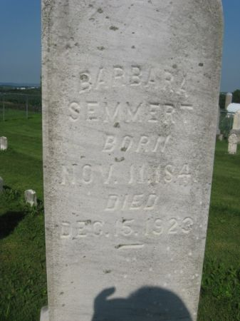 SEMMERT, BARBARA - Dubuque County, Iowa   BARBARA SEMMERT