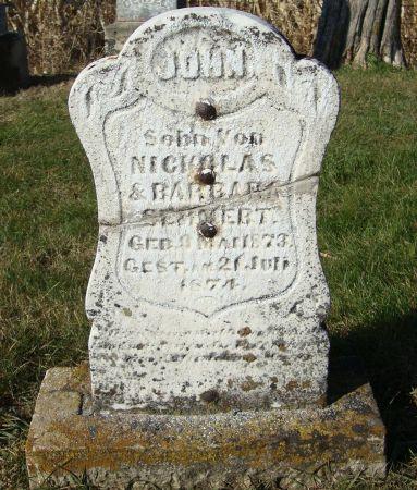 SEMMERT, JOHN - Dubuque County, Iowa | JOHN SEMMERT
