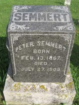 SEMMERT, PETER - Dubuque County, Iowa | PETER SEMMERT