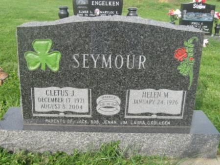 SEYMOUR, CLETUS J. - Dubuque County, Iowa   CLETUS J. SEYMOUR