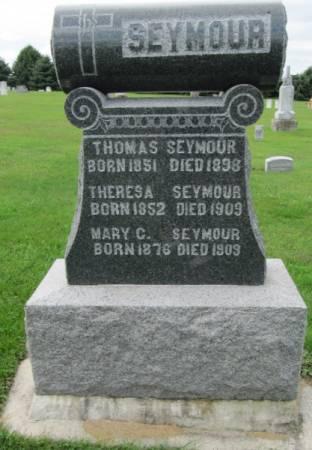 SEYMOUR, THOMAS - Dubuque County, Iowa | THOMAS SEYMOUR
