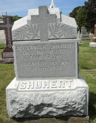 SHUHERT, ELIZABETH - Dubuque County, Iowa | ELIZABETH SHUHERT