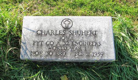 SHUHERT, CHARLES, PVT - Dubuque County, Iowa | CHARLES, PVT SHUHERT
