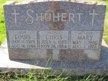 SHUHERT, LOUIS - Dubuque County, Iowa | LOUIS SHUHERT
