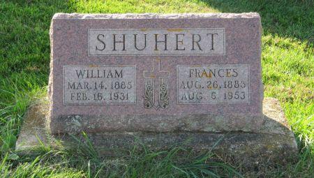 SHUHERT, WILLIAM - Dubuque County, Iowa | WILLIAM SHUHERT