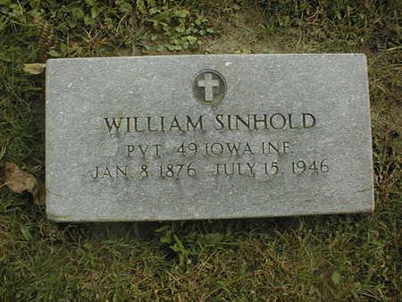 SINHOLD, WILLIAM - Dubuque County, Iowa | WILLIAM SINHOLD