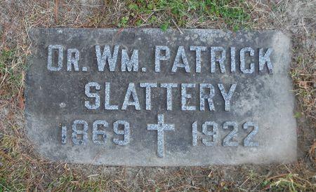 SLATTERY, DR. WM. PATRICK - Dubuque County, Iowa | DR. WM. PATRICK SLATTERY