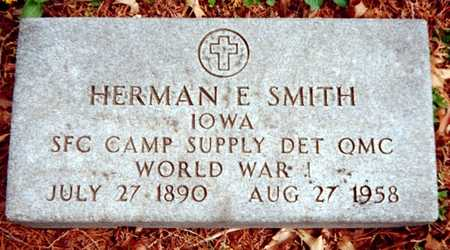 SMITH, HERMAN E. - Dubuque County, Iowa | HERMAN E. SMITH