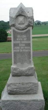 SNOWDEN, ELIZA - Dubuque County, Iowa | ELIZA SNOWDEN