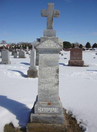 SOPPE, HENRY - Dubuque County, Iowa | HENRY SOPPE