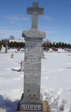 SOPPE, GERTRUDE - Dubuque County, Iowa | GERTRUDE SOPPE