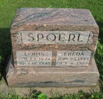 SPOERL, LOUIS - Dubuque County, Iowa | LOUIS SPOERL