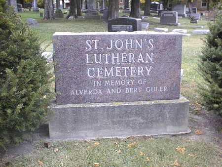 ST. JOHN'S LUTHERAN (DUBUQUE), CEMETERY - Dubuque County, Iowa | CEMETERY ST. JOHN'S LUTHERAN (DUBUQUE)