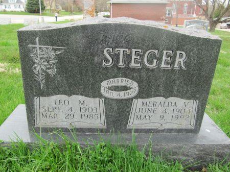 STEGER, LEO M. - Dubuque County, Iowa | LEO M. STEGER