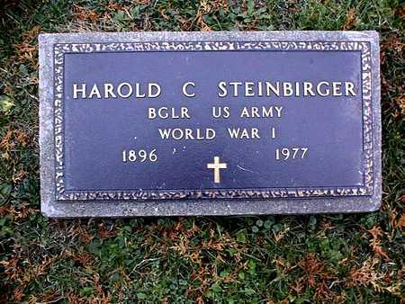 STEINBIRGER, HAROLD C. - Dubuque County, Iowa | HAROLD C. STEINBIRGER