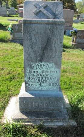 STOFFEL, ANNA - Dubuque County, Iowa   ANNA STOFFEL
