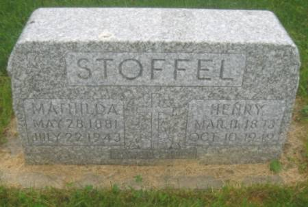 STOFFEL, HENRY - Dubuque County, Iowa   HENRY STOFFEL