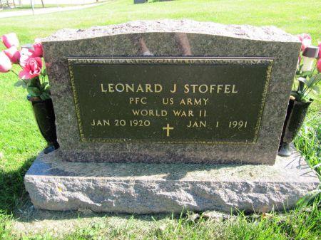 STOFFEL, PFC LEONARD J. - Dubuque County, Iowa   PFC LEONARD J. STOFFEL