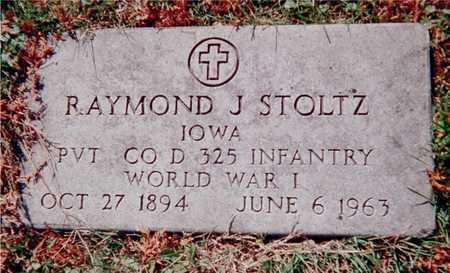 STOLTZ, RAYMOND J. - Dubuque County, Iowa   RAYMOND J. STOLTZ