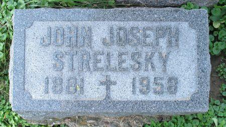 STRELESKY, JOHN JOSEPH - Dubuque County, Iowa | JOHN JOSEPH STRELESKY